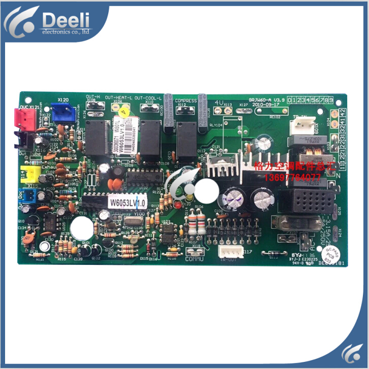 95% new good working for air conditioner cassette circuit board original motherboard W601L 30036071 GRJW60-A  on sale motherboard for ci7zs 2 0 370 industrial board ci7zs 2 0 original 95%new well tested working one year warranty
