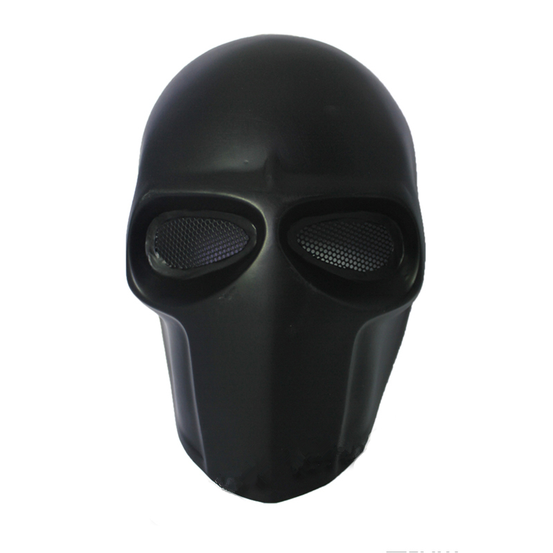 Army Of Two Party Mask Fibreglass Airsoft Paintball Helmet (Black) Dance Mask