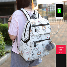 New Arrival Teenager Boys Girls Multi Function Laptop School Backpack