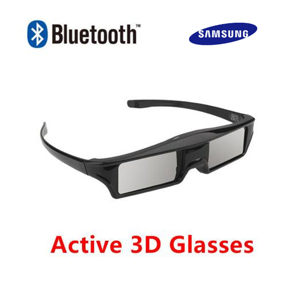 Official 100% Universal 3D Bluetooth Rechargeable Active Shutter Glasses for Sony/Panasonic/Sharp/Samsung 3D TV replace SSG-5100(China)