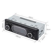 Bluetooth Car Radio Bluetooth Stereo Audio Remote MP3 Player 1 Audio AUX / TF / USB FM Car MP3 Player