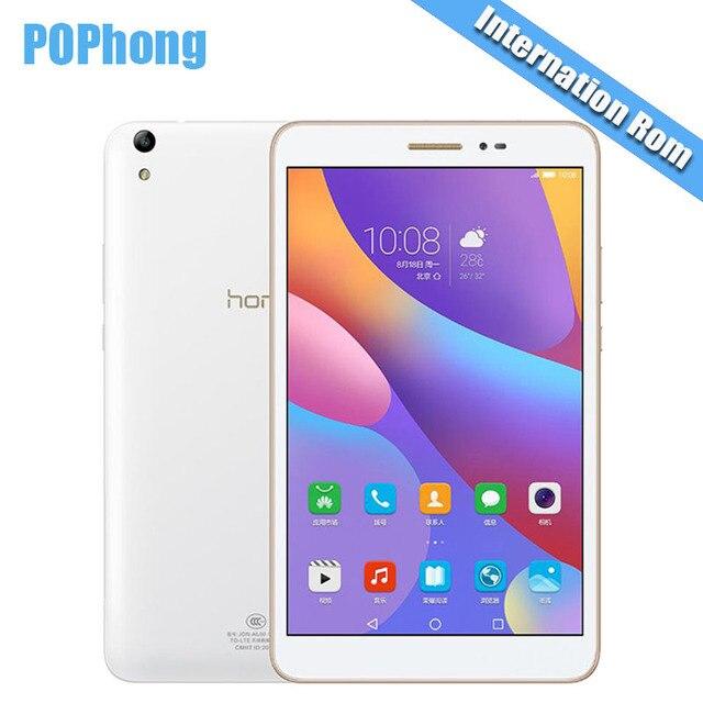 """Глобальный Встроенная память Huawei Honor Планшеты 2 Wi-Fi 3 ГБ/4 ГБ Оперативная память 16 ГБ/32 г/64 ГБ Встроенная память 8.0 """"Планшеты PC Snapdragon msm8939 Octa core Android 6.0 GPS P"""