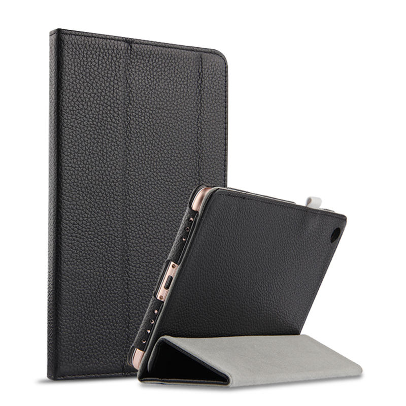 Case Cowhide For Xiaomi Mi Pad 4 MiPad4 8 Protective Cover Genuine Leather case For Mi Pad4 Mipad 4 8.0 inch Tablet PC Covers moskii shield pc back case protective cover for xiaomi mi m4