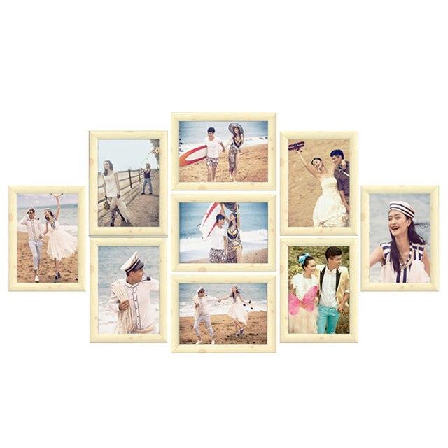Online Shop 9Pcs/Lot Photo Frame Set Picture Frame Family Collage ...
