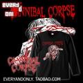 Cannibal corpse Band 1997 clásico de manga larga Camiseta de La Camiseta T Paño