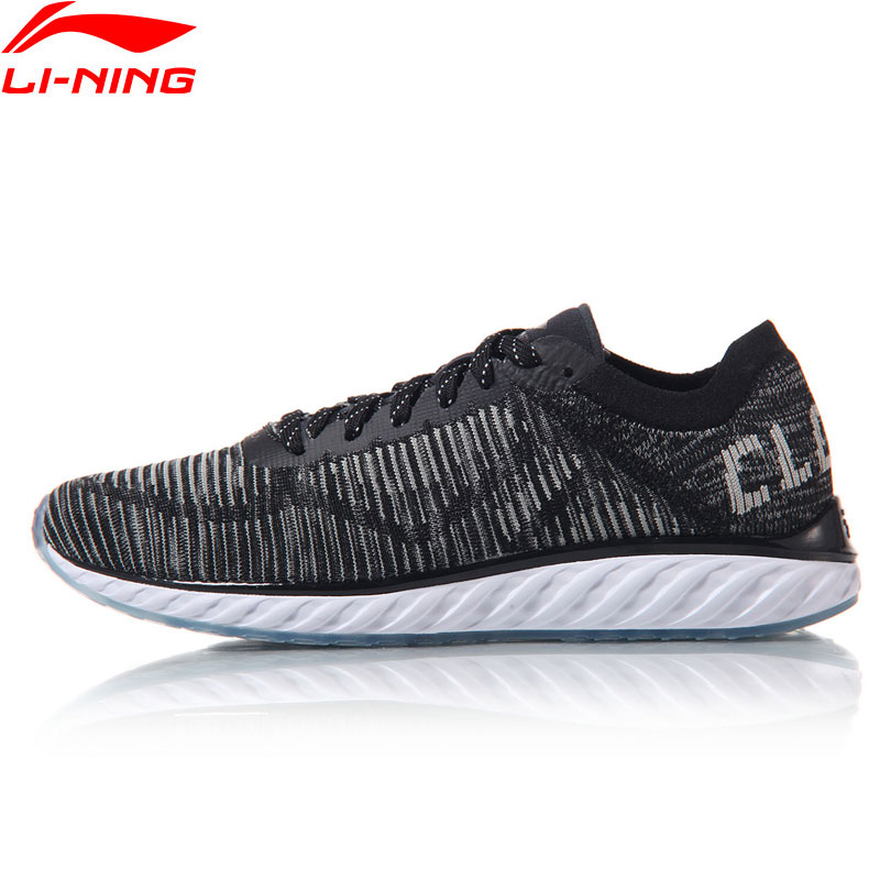 Li-Ning Men Breathable Running Shoes LN CLOUD IV LiNing Sneakers Cushion Light Sports Shoes ARHM025 XYP548 li ning men s fission iii wade professional basketball shoes lining cloud sneakers breathable sports shoes abam025 xyl109