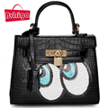 BVLRIGA designer brand women leather handbags fashion eyes shoulder bag women messenger bags small bag dollar price tote bolsos