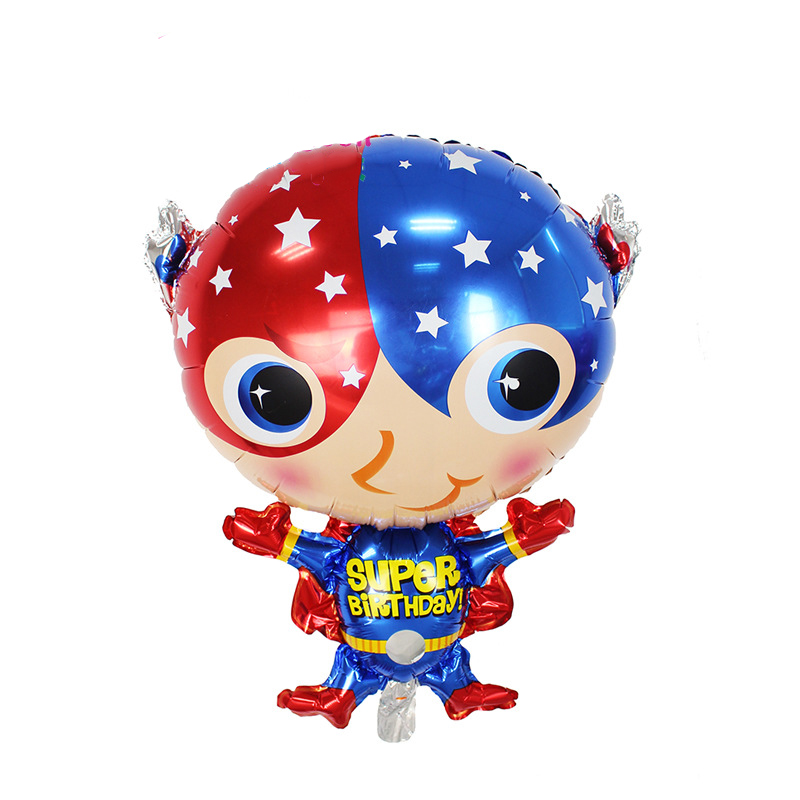 ộ ộ Lucky 10 Unids Lote Anagrama Superman De Dibujos Animados