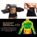 Hombres/Mujeres Fajas Cintura Trimmer Cinturón Sudor Prima Gymnic Body Building Cinturón Ejercicio Muscular de la Cintura cuerpo masajeador