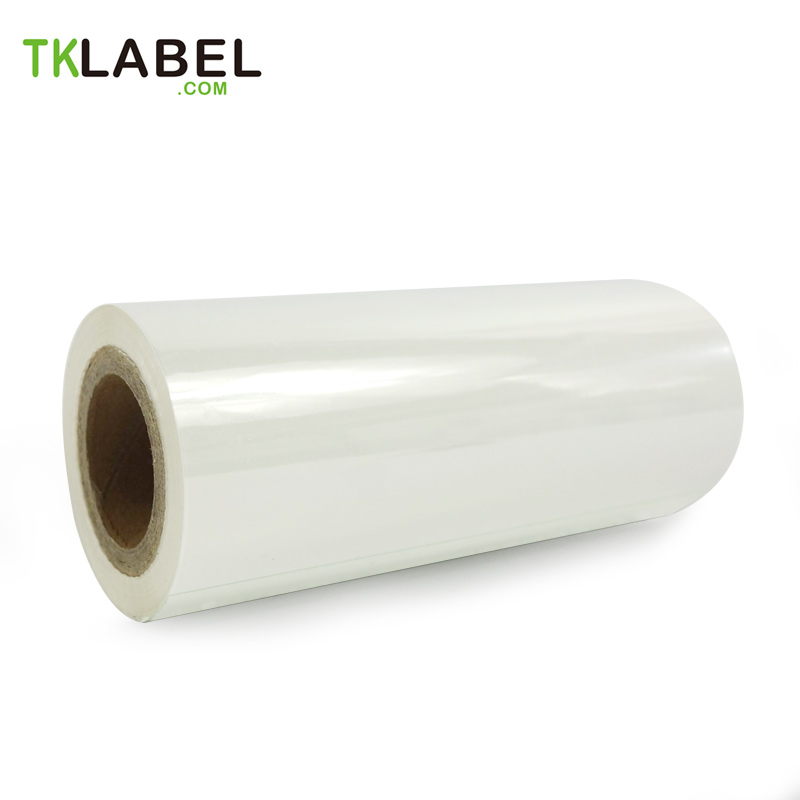 White Color Thermal Transfer Ribbon  110mm x 100 metersResin ribbon for barcode printers  1 inch core|thermal transfer ribbon|thermal ribbon|ribbon transfer - title=