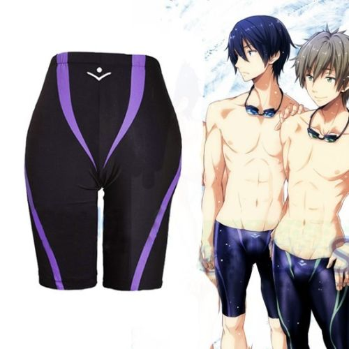 Casual Anime Free! Iwatobi Nanase Haruka Cosplay Pant Swimming Trunks