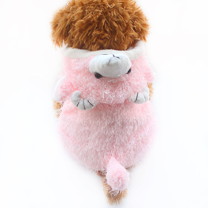 Humble Armi Store Sheep Winter Warm Dog Jumpsuit Dogs Pink Jumpsuit 6141004 Pet Clothes Supplies Good For Antipyretic And Throat Soother Pet Products