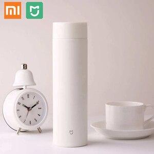 Image 2 - Xiaomi mijia תרמוס בקבוק 500 ML כוס תרמית ואקום ספל 12 שעות לשמור חם קר מים יום הולדת מתנה לילד ילדה הידידה
