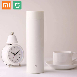Image 2 - xiaomi mijia Thermos bottle 500ML cup Thermal Vacuum mug 12 hours keep warm cold water birthday gift for boy girl friend woman