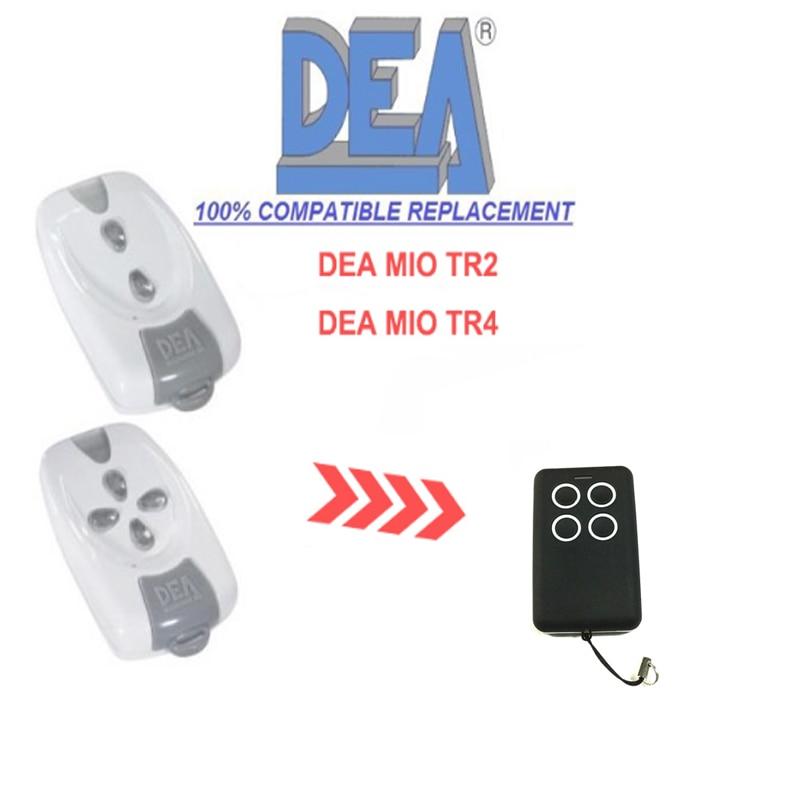 Garage Door Remote Control for DEA MIO TR2\MIO TR4 Replace Rolling CodeGarage Door Remote Control for DEA MIO TR2\MIO TR4 Replace Rolling Code