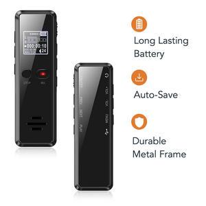 Image 3 - Vandlion V90 dyktafon profesjonalny dyktafon cyfrowy długi czas ukryty aktywowana głosem Flac bezstratny HIFI Mini odtwarzacz MP3