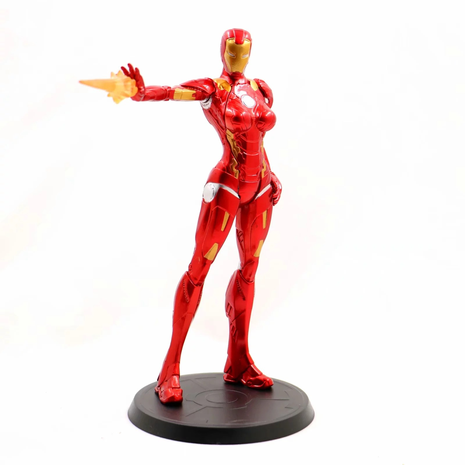 Avengers Iron Lady Ironman Girl Ver Action Figure Toys Doll GK Statue PVC Brinquedos Collection MK8 Super hero Model GiftAvengers Iron Lady Ironman Girl Ver Action Figure Toys Doll GK Statue PVC Brinquedos Collection MK8 Super hero Model Gift