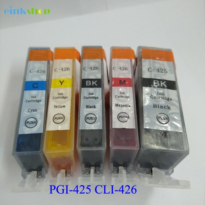 Cwpan inc inc PGI-425 CLI-426 ar gyfer canon PGI 425 CLI426 PIXMA - Electroneg swyddfa