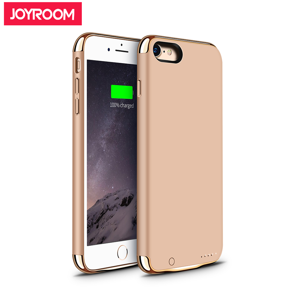 brand new 153ef a8037 US $41.24 |Joyroom 3.8V 2300mAh Battery Charger Cases For iPhone 7 External  Battery Case Cover Backup Portable Power Bank Rechargeable Gold-in Battery  ...
