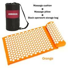 Massager Cushion&Pillow Shakti Mat Massage Acupuncture Pillow Effective Relief Back Pain Neck