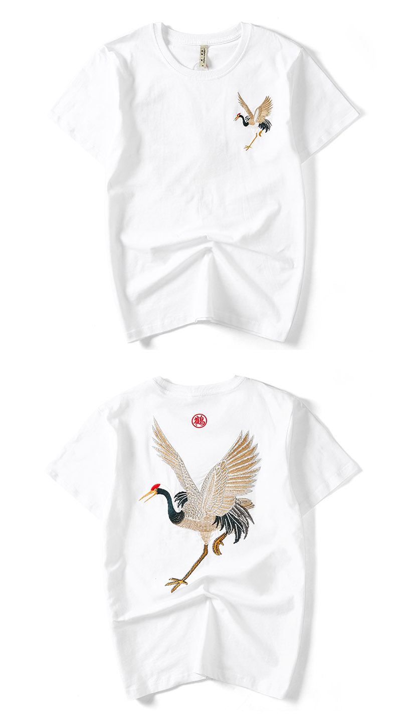 Chinese Crane Fish T Shirts