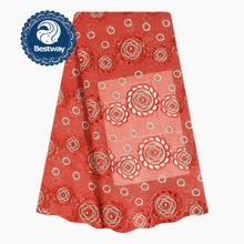 Bestway Eyelet Cord Laces Fabrics Guipure African Dry Lace Fabric Latest Embroidered Rose Rhinestone 3D Beads Net Lace Fabric недорого