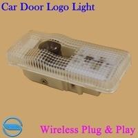 OCSION 2X Car Door Logo Projector Laser Light For Citroen C5 New Sega Wireless 3D Ghost