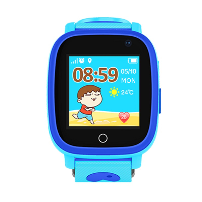 "Kids watch GPS tracker watches waterproof IP67 HD 1.44"" screen flashlight camera SOS GPS LBS Location for 2G Children clock S11"