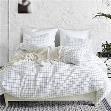 Home Textiles Bedding Set Bedclothes Bohemia Duvet Cover Pillowcase Sets Nordic Pastoral Style Bed linen Twin Queen King Size(China)