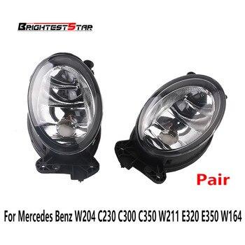زوج الجبهة الضباب ضوء مصباح ضوء الليل سيارة لمرسيدس بنز W204 C230 C300 C350 W211 E320 E350 W164 A1698201556 A1698201656