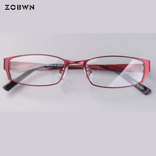 wholesale hot glasses Japan quality Fashion eyewear Frame Full-rim Computer Eyeglasses women cheap manufacture lentes opticos(China)