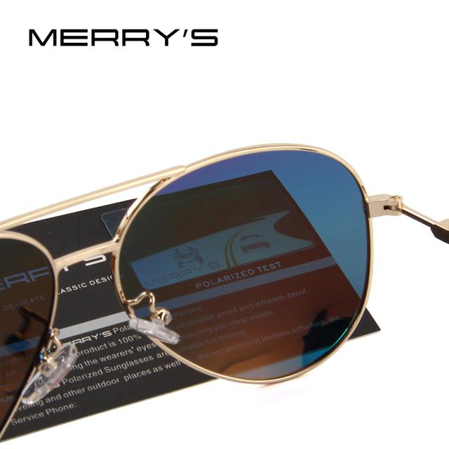 Unisex Classic Pilot Polarized Sunglasses