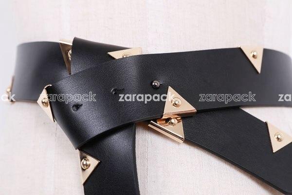 Zarapack Womens Genuine Leather Belt Xs S