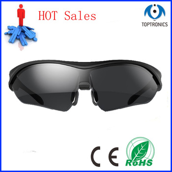 Luxury Outdoor Smart Bluetooth Sunglasses Sport Clear Polarized Lens Music Earpod Eyewear Glasses Voice Control for iphone 7 6s