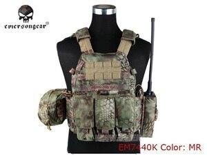Image 3 - EMERSONเกียร์LBT6094Aสไตล์เสื้อกั๊กกระเป๋าAirsoft Painballกองทัพทหารเกียร์EM7440F AOR2