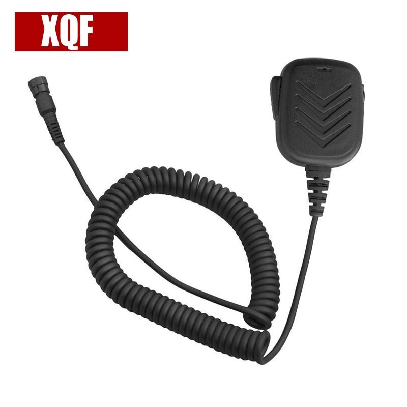 XQF IP54 Speaker Microphone For Yaesu Vertex Radio VX-8R VX-8DR VX-8 VX-8E VX-9U
