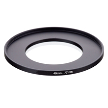 49mm 77mm 49 77 mm 49 to 77 mm 49mm to 77mm Step UP Ring Filter Adapter