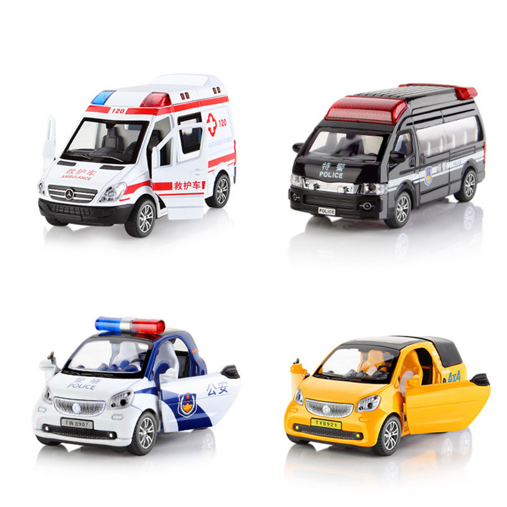 Diecasts & Toy Vehicles 1 pcs diecast car model Metal Toys Model Car Birthday Gift Kids Boy music function Activate light funny