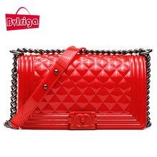 BVLRIGA verano bolsos mujer de marca famosa 2017 bolsos de las mujeres diseñador de lujo bandolera bolso mensajero mujer rojo bolsos señora de marcas blanco pequeño bolso negro mujer azul bolsos obag bolsos de fiesta
