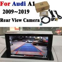كاميرا خلفية الأصلي شاشة ترقية عرض لأودي A1 2011 2012 2013 2014 2015 2016 2017 2018 2019 كاميرا احتياطية فك-في كاميرا مركبة من السيارات والدراجات النارية على