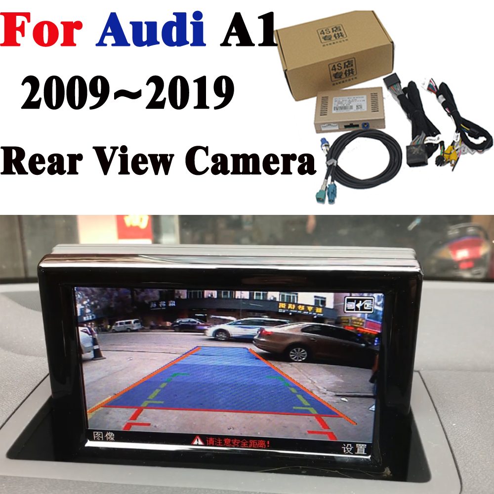 Rear Camera Original Screen Upgrade Display For Audi A1 2011 2012 2013 2014 2015 2016 2017 2018 2019 Backup Camera Decoder