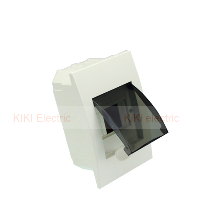 4 Way Waterproof Plastic Cover And Body Distribution Box Lighting Mini Circuit Breaker For Hotel Or Home In Breakers From