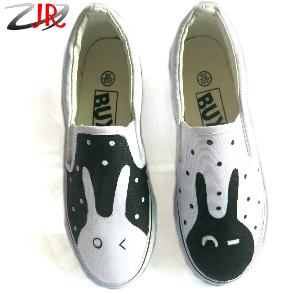 734404061128 New cute rabbit style kids canvas shoes boys girls shoes low top jpg  1000x1000 Bunny girls