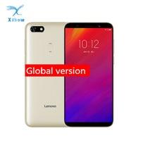 Global Version Lenovo A5 3GB 16GB Mobile Phone MTK6739 Quad Core 5.45inch 4000mAh Fingerprint 13.0MP+8.0MP 4G LTE Smartphone Lenovo Phones