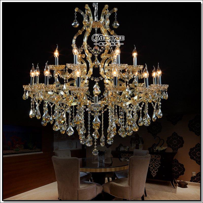Hotel Hallway Crystal Chandelier Lighting Maria Theresa