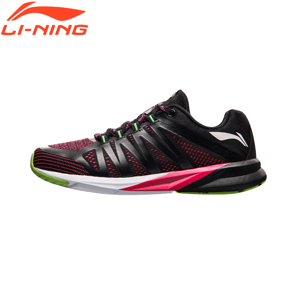 Li-Ning Breathale Women Running Shoes Mesh Cushioning Light Weight Sports Sneakers Colorful Female LiNing Shoes ARHM016 original li ning men professional basketball shoes