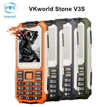 Vkworld камень v3s 2.4 дюймов камеры мобильного телефона мобильный телефон sprd 6531d gsm dual sim светодиодные фонари старший водонепроницаемый физическая клавиатура