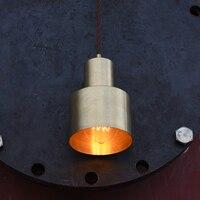 Cobre LEVOU Pendurado Lâmpada Loft Quarto Decor Iluminação Industrial Luzes Pingente Luminárias de Iluminação Casa de Jantar Retro Do Vintage