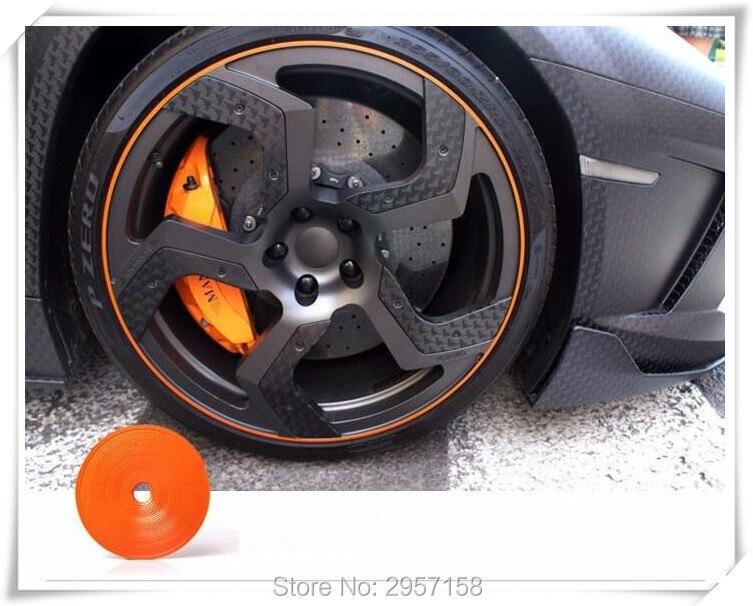 2018 8m Car Hub Trim Decoration Strip Wheel Rim Ring For Mazda 3