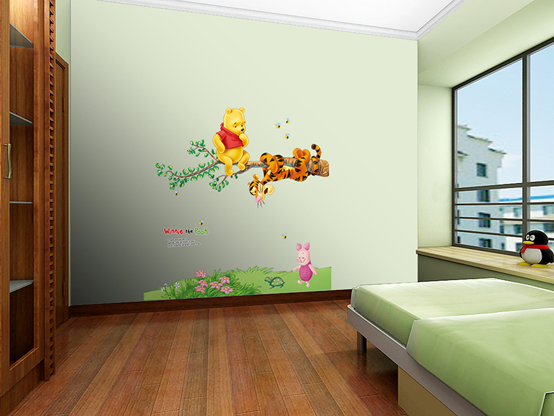Aliexpress com   Buy DH Cartoon Vinylwall 3d wall stickers home decor  bedroom DIY Child Wallpaper Art Decals 3D Design House Decoration for kids  room from. Aliexpress com   Buy DH Cartoon Vinylwall 3d wall stickers home